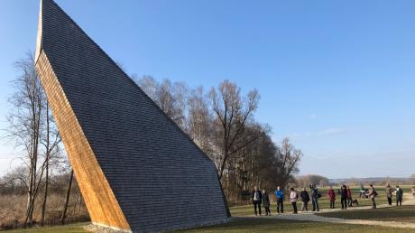 Bei schönem Wetter erlebt auch die Denzel-Kapelle nahe der Ludwigsschwaige bei Pfaffenhofen einen Ansturm. Das Foto entstand am Sonntag.