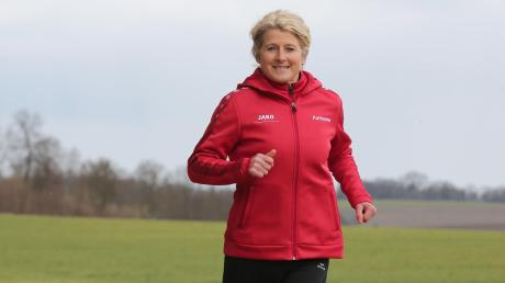 Katharina Kaufmann aus Nittingen läuft in ihrer Freizeit 50 bis 70 Kilometer die Woche. Früher hat sie den Sport auf Leistungsniveau betrieben und ist bei Wettkämpfen angetreten.
