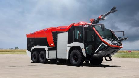 Ausgezeichnet wurde unter anderem die Z-Class des Herstellers. Das abgebildete Fahrzeug Z6 ist für den Einsatz an Flughäfen geeignet.