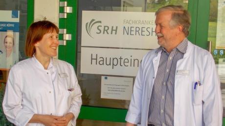 Chefärztin Dr. Annette Reeh ist ab dem Jahr 2023 als Nachfolgerin von Chefarzt Dr. Bernd Eifert auch Ärztliche Direktorin des Fachkrankenhauses Neresheim.