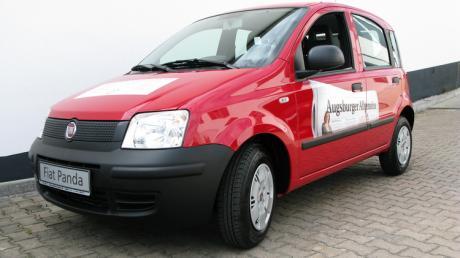 Der Fiat Panda der Augsburger Allgemeinen