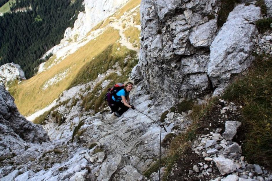 Friedberger Klettersteig : Friedberger klettersteig lokalnachrichten aichach augsburger