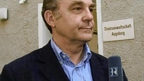 Spendenaffäre CDU Dieter Holzer nach seiner Aussage bei der Augsburger Staatsanwaltschaft