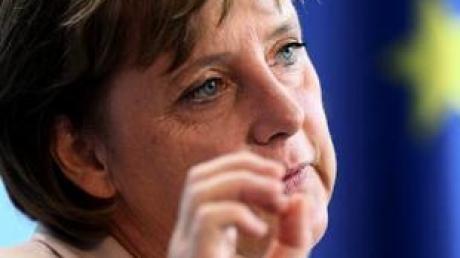 Bundeskanzlerin Merkel beharrt in Sachen Klimaschutz auf den deutschen und europäischen Positionen. (Archivbild)