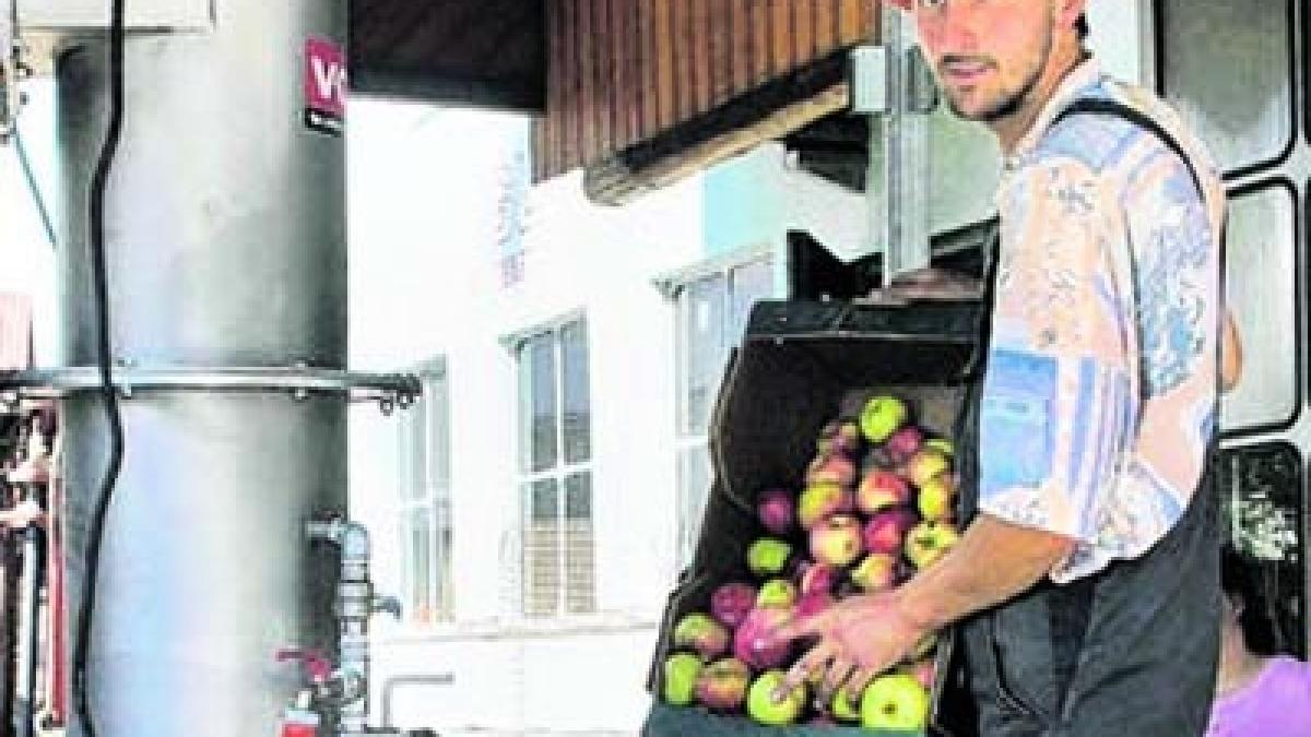 Eine saftige idee die mobile obstpresse nachrichten - Landsberg mobel ...