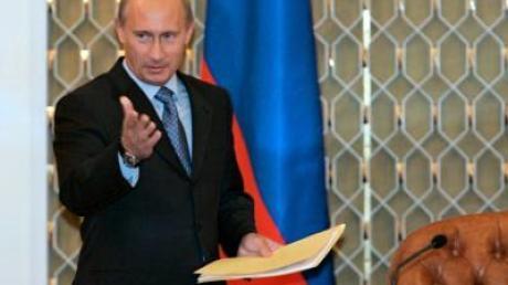 Russlands Wladimir Putin hat die neue russische Regierung ernannt.