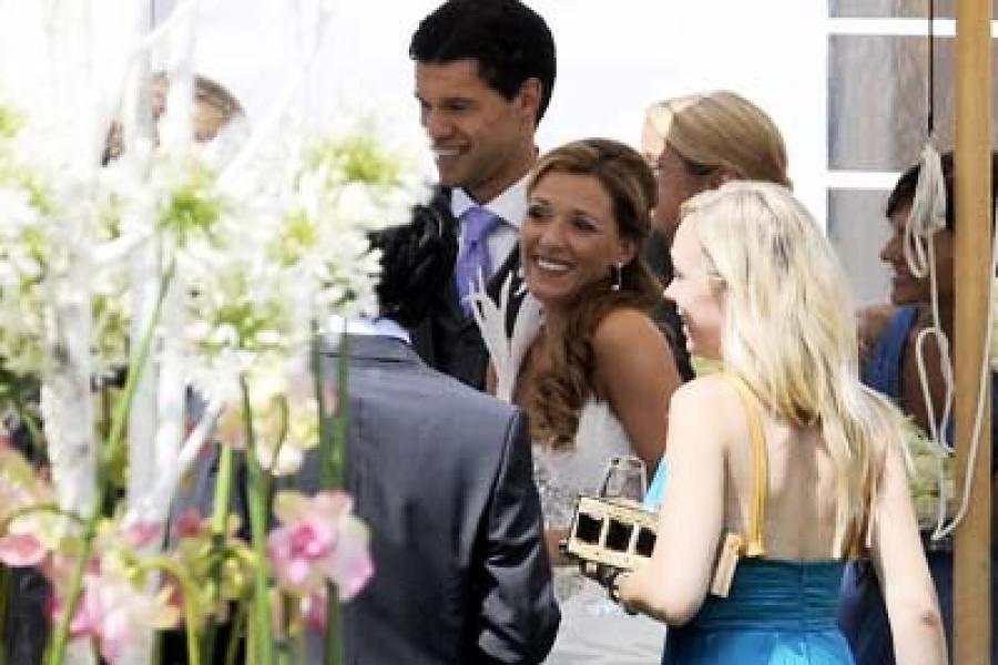 Hochzeit mit viel Prominenz: Michael Ballack heiratet seine Simone