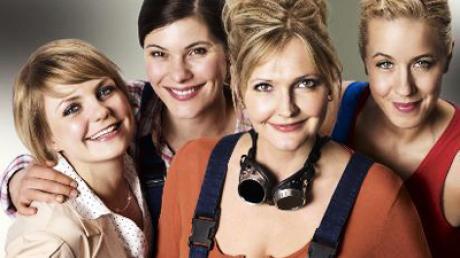Melanie (Anna Hopperdietz), Bärbel (Yasmina Djaballah), Lilli (Katharina Schubert) und Yvonne (Katharina Kaali) (v.l.) sind die neuen starken Frauen in der ARD.