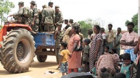 Ringen um humanitäre Waffenruhe in Sri Lanka