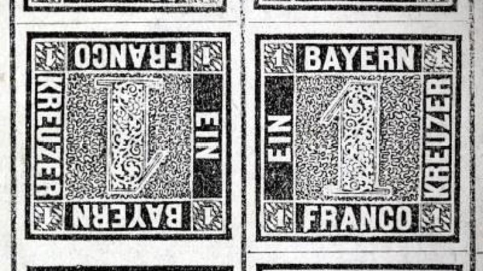 320 000 Euro Für älteste Deutsche Briefmarke Kultur Nachrichten