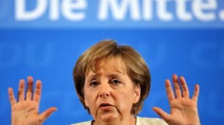 Merkel spricht Machtwort im CDU-Steuerstreit
