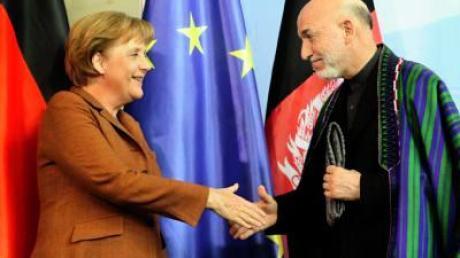 Deutschland will in Afghanistan schneller ausbilden