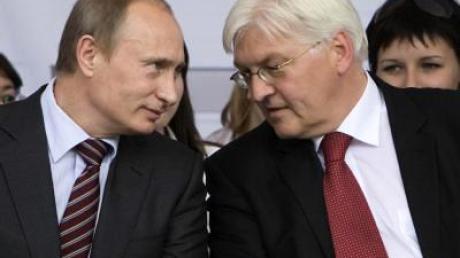 Steinmeier und Putin werben für Abrüstung