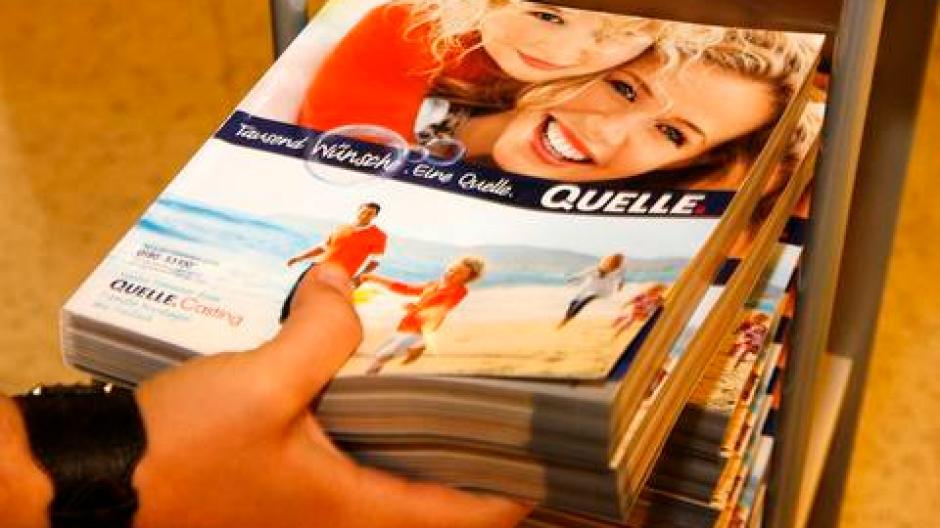 Hilfe Vom Staat Quelle Hofft Auf Kredit Für Katalog Druck