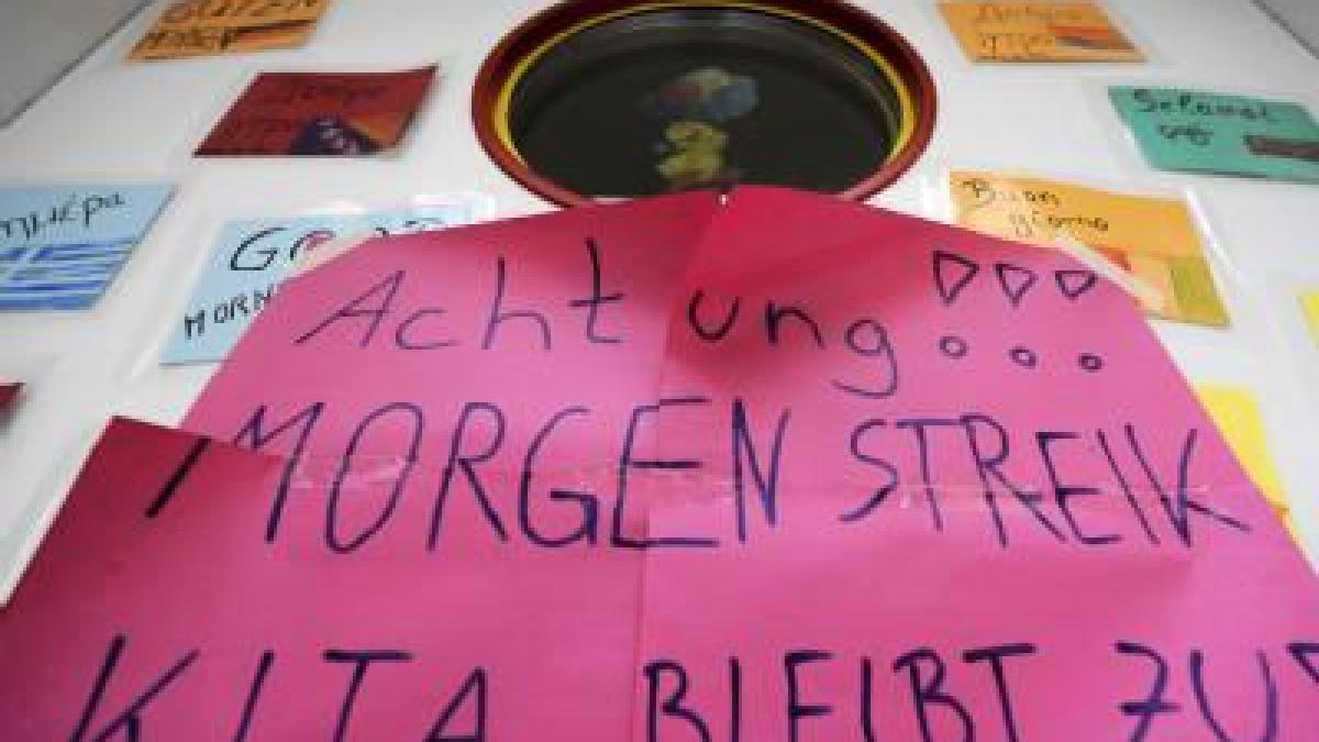 KiTa-Streik am kommenden Dienstag: Das müssen Eltern wissen