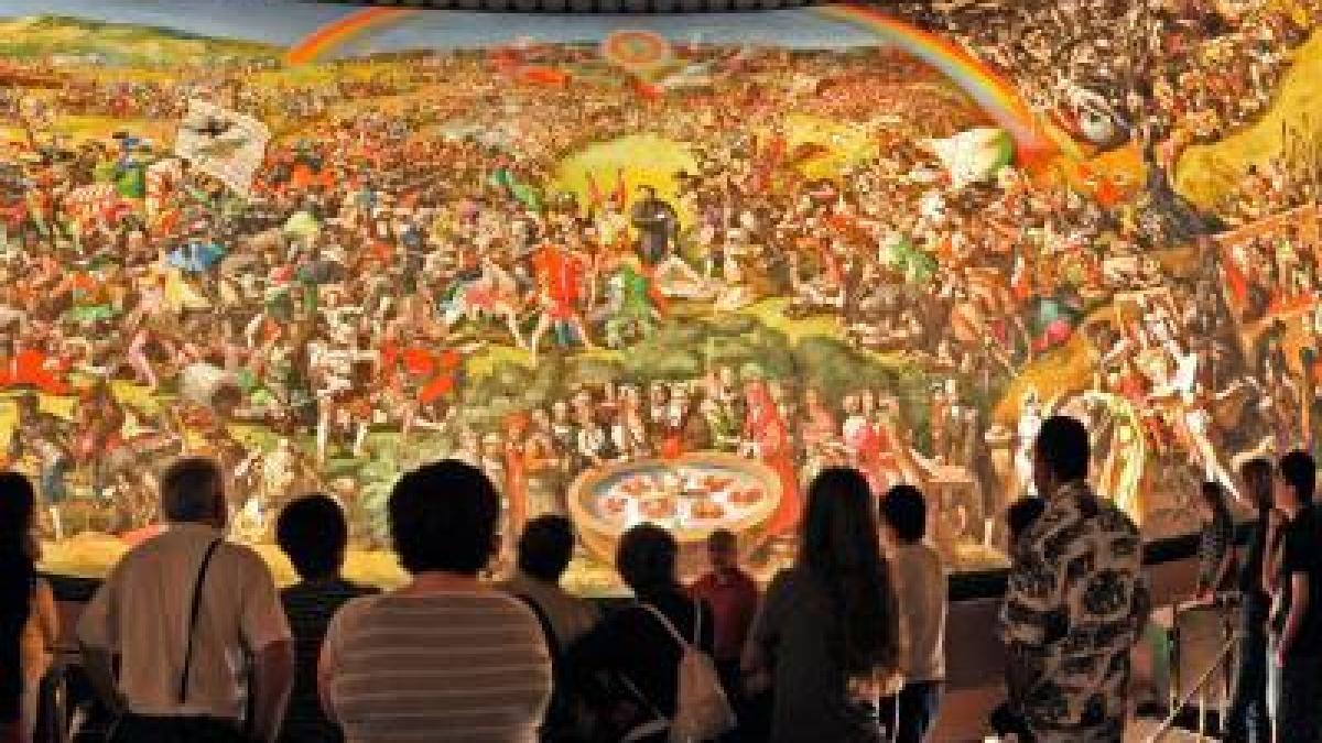 Ausstellung über Tübkes Bauernkriegspanorama | Augsburger
