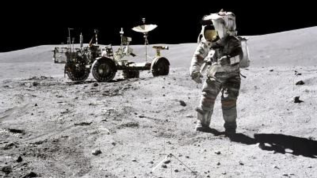 Spiel Mondlandung