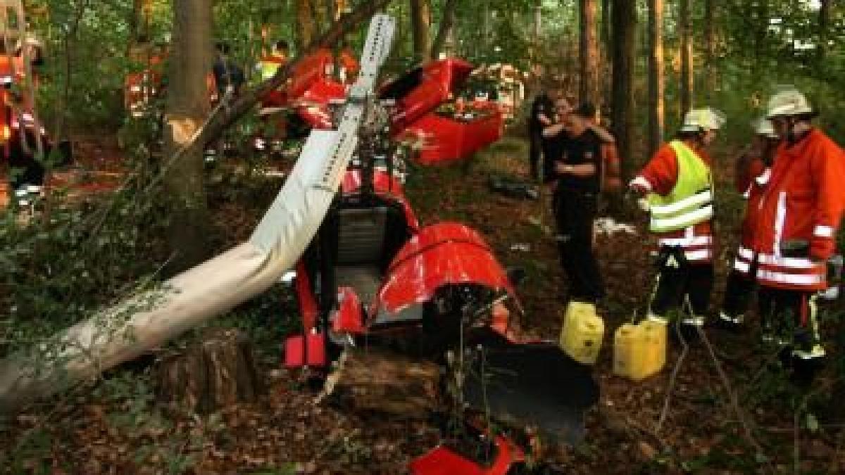 Zwei Menschen sterben bei Gyrocopter-Absturz - Promis ...
