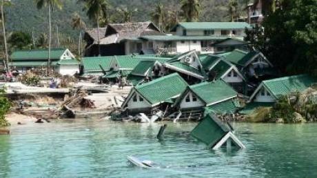 Der Tsunami von 2004 tötete 230000 Menschen