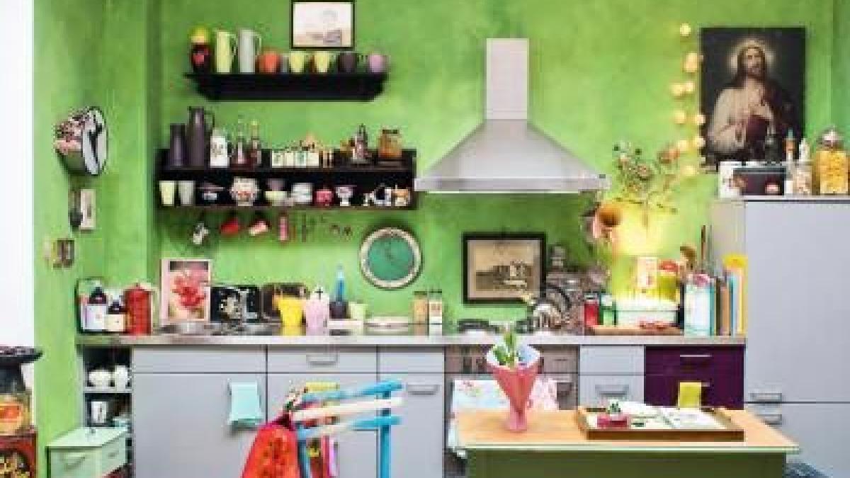kleine k chen kreativ gestalten bauen wohnen themenwelten ratgeber augsburger allgemeine. Black Bedroom Furniture Sets. Home Design Ideas