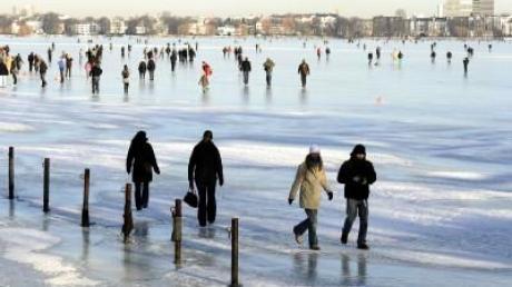 Kälterekorde in Deutschland