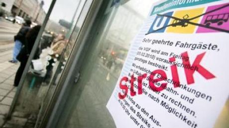 Tausende Pendler von Warnstreiks betroffen