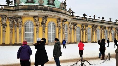 Schloss Sanssouci. Bild: dpa