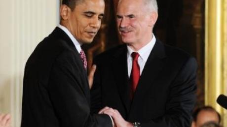 Papandreou: Obama unterstützt Schritte gegen Spekulanten