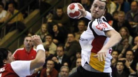 Deutsche Handballer nur mit Remis gegen Schweiz