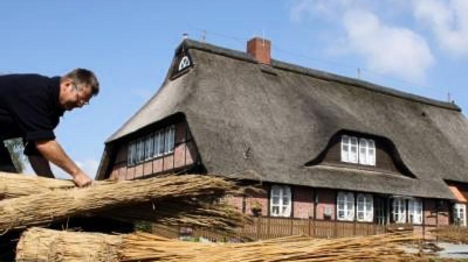 Feuchtwarme Luft Schadet Dem Reetdach Bauen Wohnen
