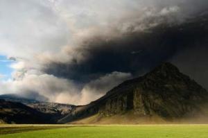 Der Vulkan Eyjafjallajökull.
