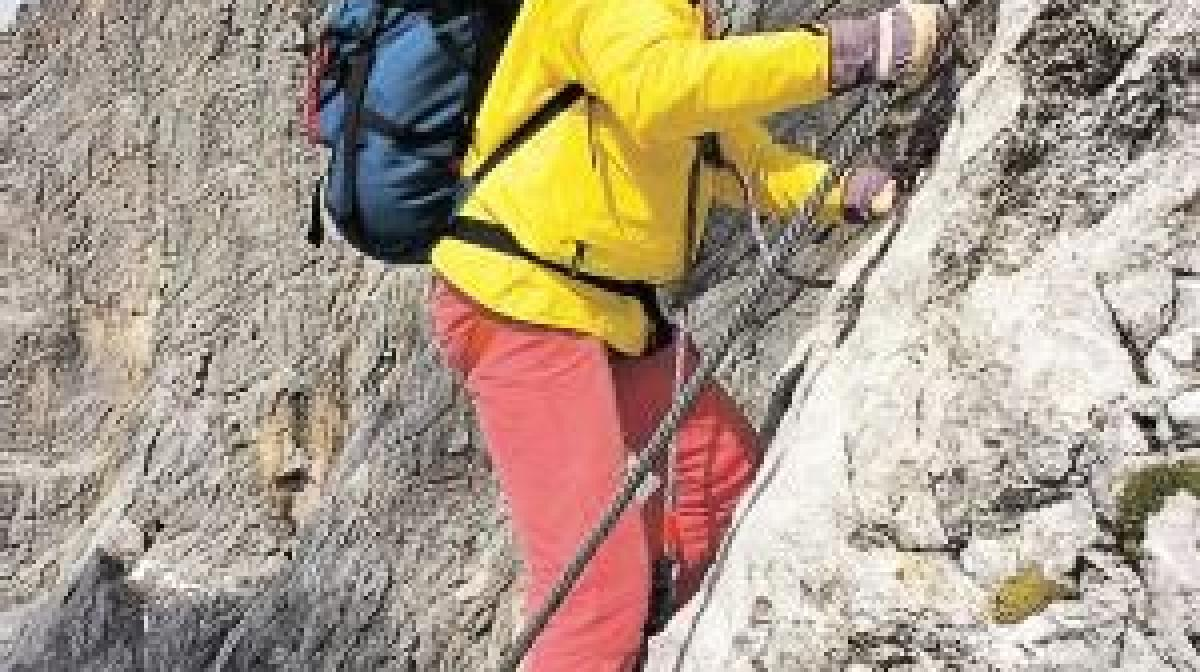 Klettersteig Johann Dachstein : Hoher dachstein südwand klettersteig johann tourentipp