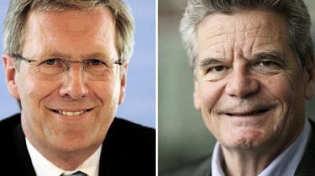 Gauck und Wulff