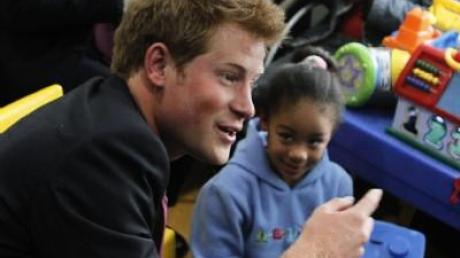 Prinz Harry denkt immer an Diana