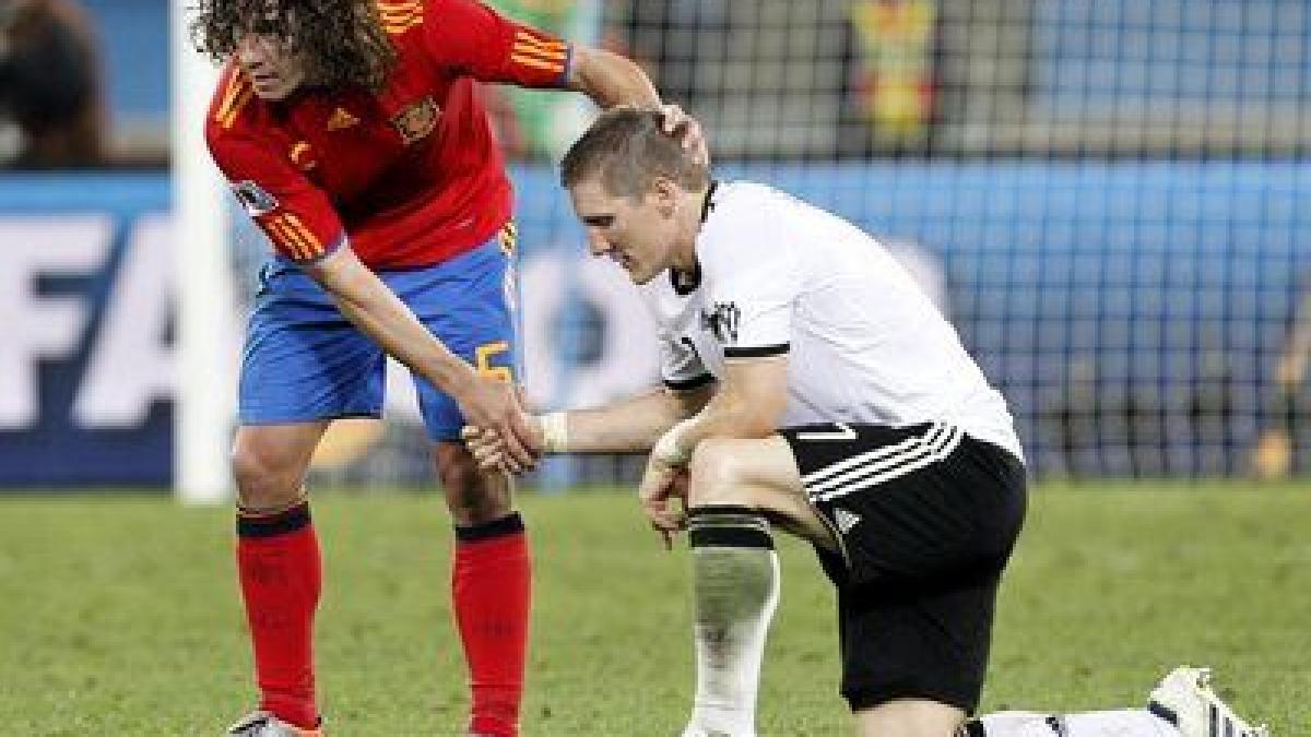 Deutschland Spanien 2010