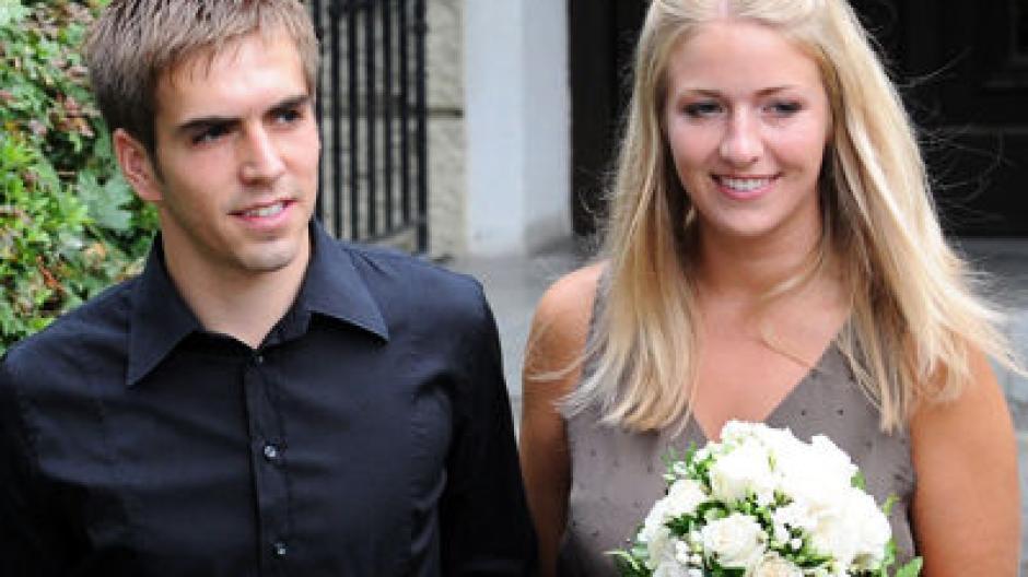 Ja Wort Philipp Lahm Eheschliessung Ohne Phrasenschwein Sport