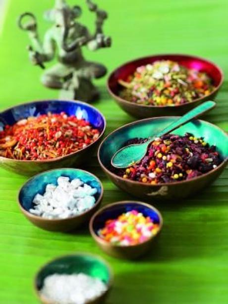 Bunt gemischt: Die indische Küche lebt von Gewürzen - Gesundheit ...