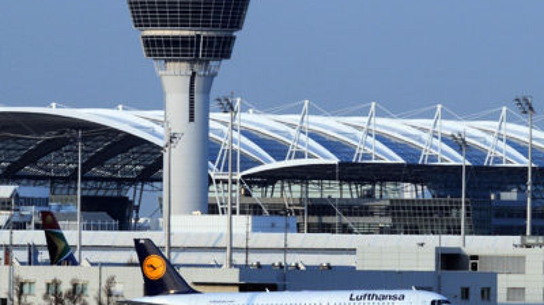 Unfall Flughafen München