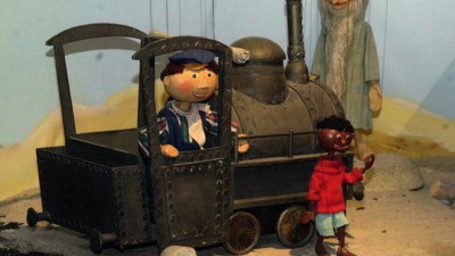 jim knopf und lukas der lokomotivfÜhrer marionette