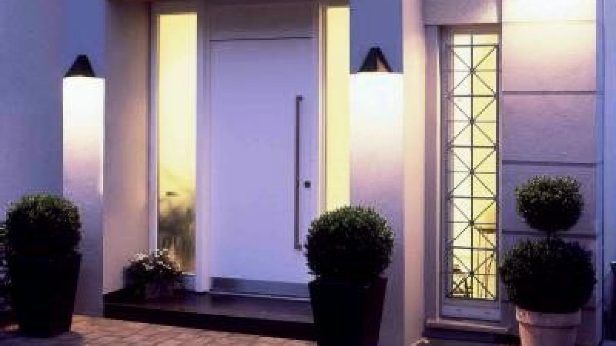 Amüsant Moderne Hauseingänge Beste Wahl Den Eingang Einladend Gestalten - Bauen &