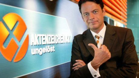 Der Moderator Rudi Cerne von Aktenzeichen XY...ungelöst.