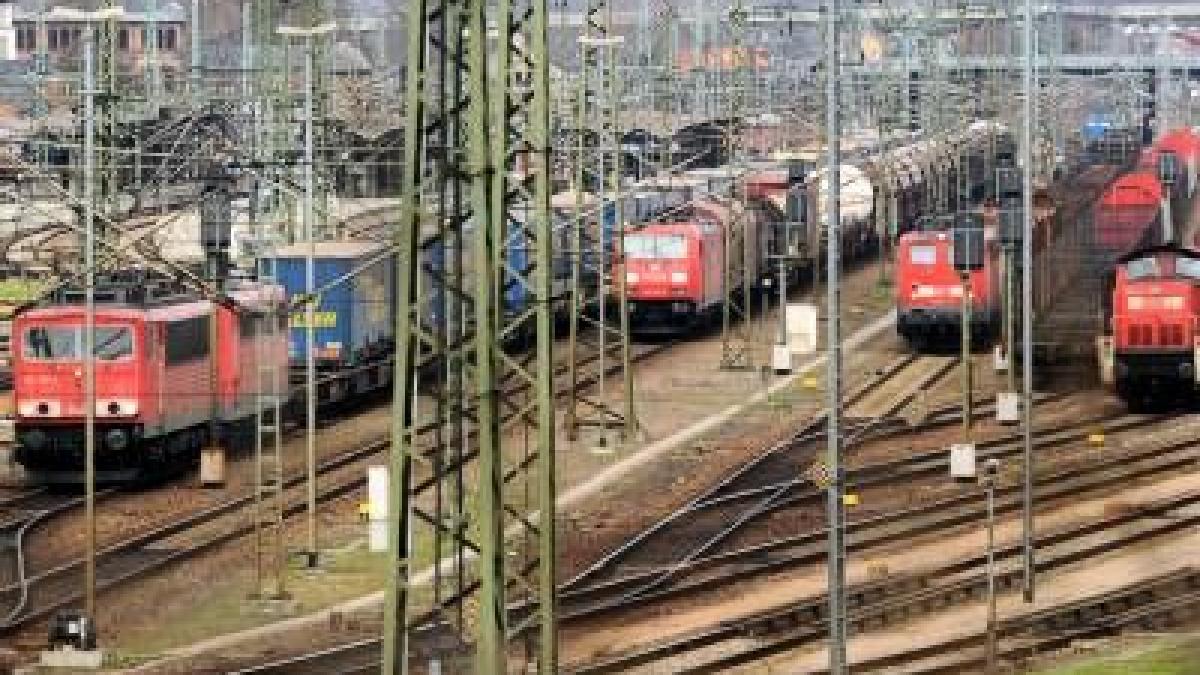 Bahnstreik Güterverkehr