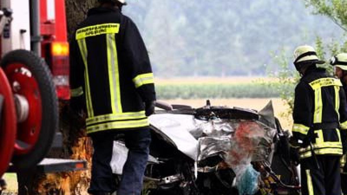 Polizeibericht Bayern Unfall