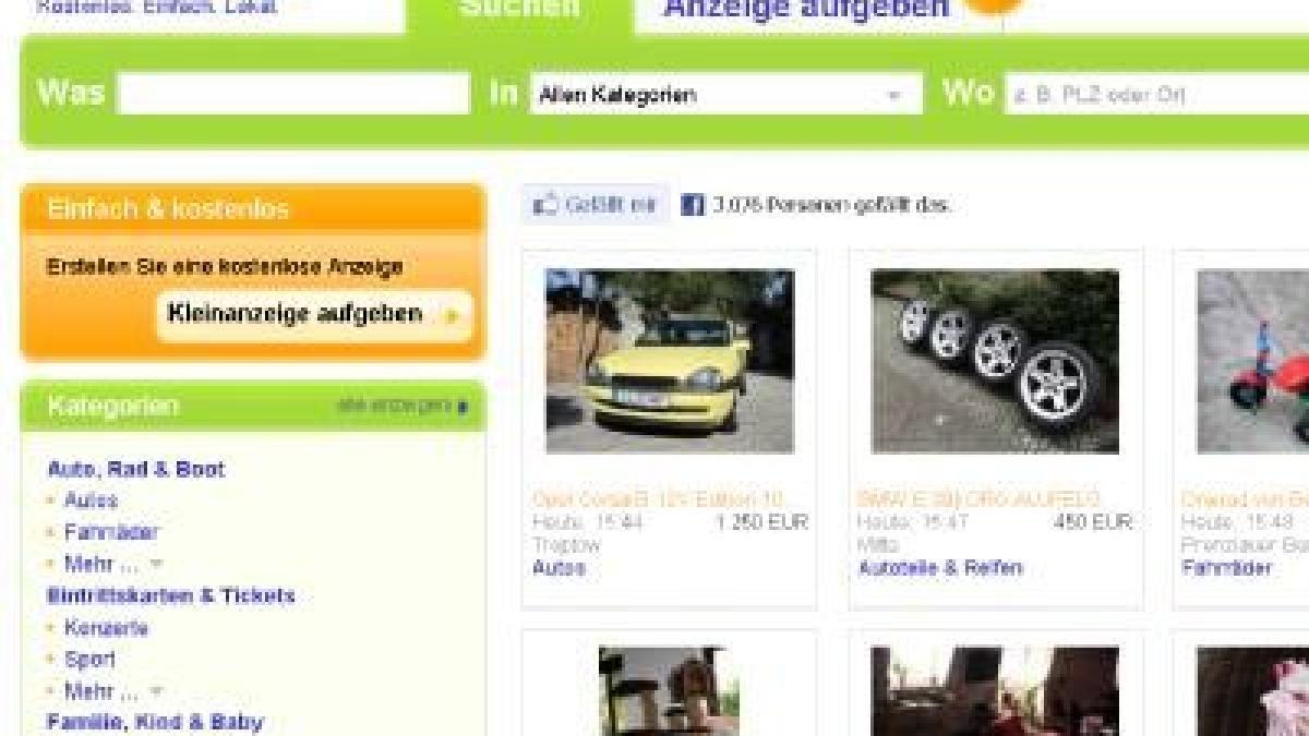 Bekanntschaften bei ebay kleinanzeigen