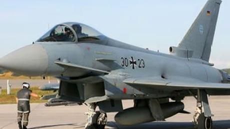 Bundeswehr hält Eurofighter am Boden