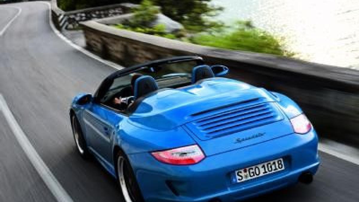 streng limitiert porsche 911 speedster auto verkehr themenwelten ratgeber augsburger. Black Bedroom Furniture Sets. Home Design Ideas