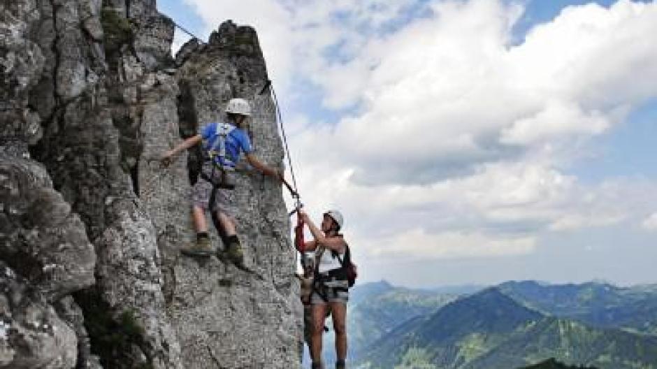 Klettersteigset Kind : Alpenverein warnt gefahr für kinder am klettersteig leben