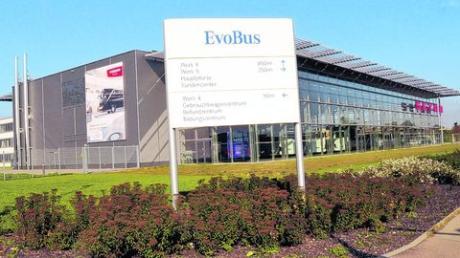 Die Firma EvoBus im Neu-Ulmer Industriegebiet ist von einem ihrer Mitarbeiter um hohe Geldsummen betrogen worden. Foto: rfu
