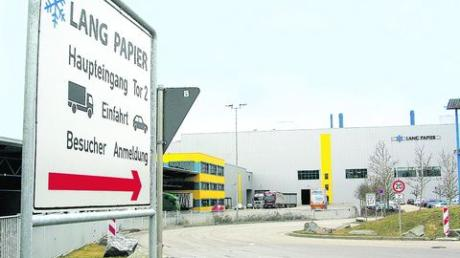 Die Papierfabrik Lang in Ettringen. Archivfoto: Carmen Schaumann