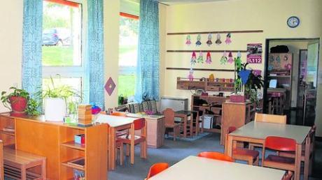 Im Untergeschoss des Obergriesbacher Schulhauses ist der Kindergarten untergebracht. Viele Obergriesbacher wünschen sich, dass er ins Erdgeschoss umzieht. Derzeit ist jedoch geplant, ihn im Souterrain zu lassen und zu renovieren. Foto: Simüller